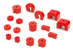 Alcomax Red Horseshoe and Pot Magnets